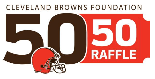 Cleveland Browns Foundation 50 50 Raffle